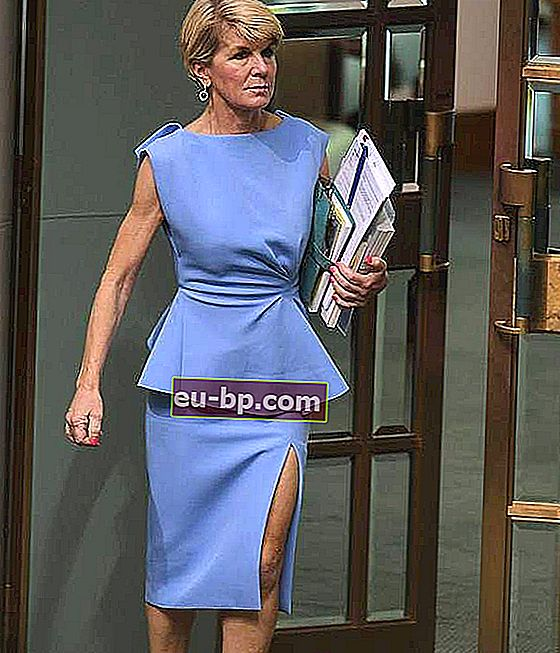 Julie Bishop Suami