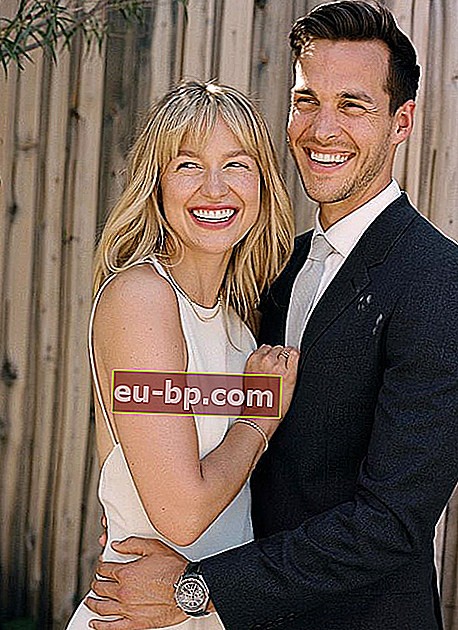 Chris Wood dan Melissa Benoist Happiness